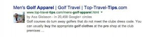 Google Plus Uniform Industry Expert