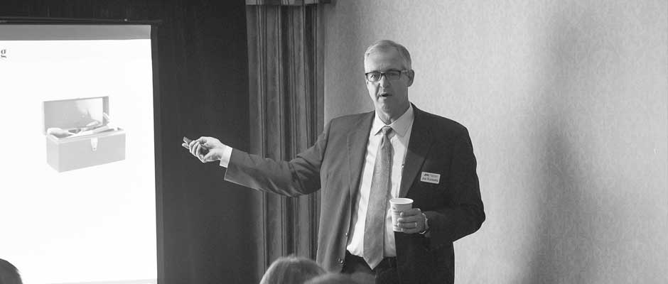 Joe Rubbelke recounts the training session he delivered at th eUniversal Unilink conference
