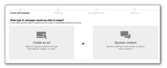LinkedIn ads Step 3