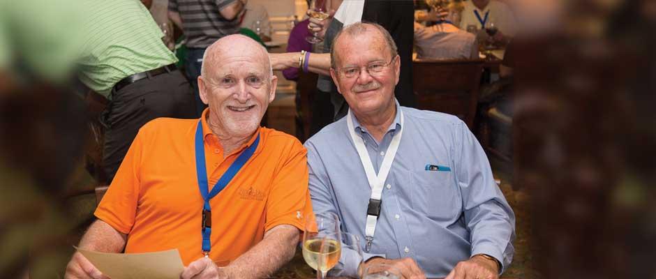 Jim Gardner joins Allan Fowler at the 2015 Universal Unilink Business Development Confernce