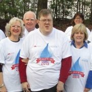 the Universal Unilink tam wearing Mountville Mills Tshirts