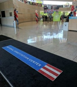 Health mats - Constitution Center